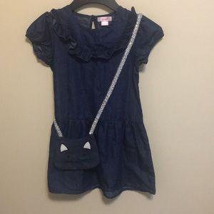 Soft Denim dress for girls
